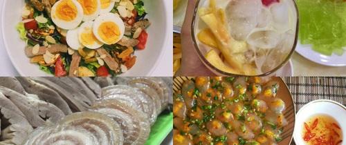 """Xếp hạng món ăn """"đình đám"""" được cộng đồng mạng yêu thích nhất trong tuần"""