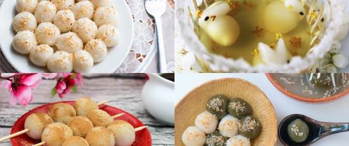 Có 10 công thức làm bánh trôi bánh chay ngon - đẹp - lạ này khỏi lo tết Hàn thực nhàm chán