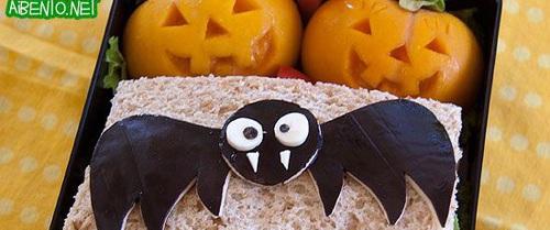 Những hộp cơm bento cho trẻ theo chủ đề Halloween vô cùng đáng yêu