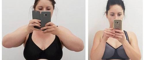Không cần ăn kiêng, bà mẹ trẻ vẫn giảm 37kg sau khi sinh một cách đáng kinh ngạc