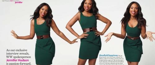 Bí mật giảm cân của Jennifer Hudson để có được thân hình vạn người mê