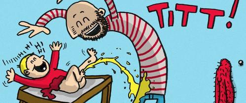 """Ông bố """"dũng cảm"""" phác họa lại những tình huống hài hước khi ở nhà chăm con"""