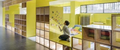 Tham quan ngôi trường tiểu học có thiết kế sinh động không khác gì khu vui chơi