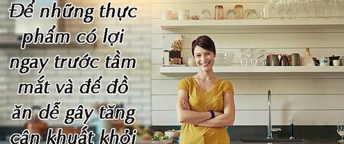 Có thể bạn chưa biết: Sắp xếp phòng bếp như thế này sẽ giúp bạn giảm cân hiệu quả đến bất ngờ