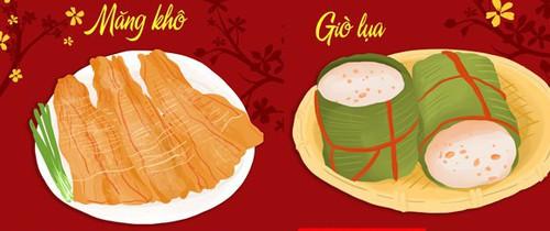 Lưu ý khi chọn và chế biến các loại thực phẩm thường ăn trong dịp Tết