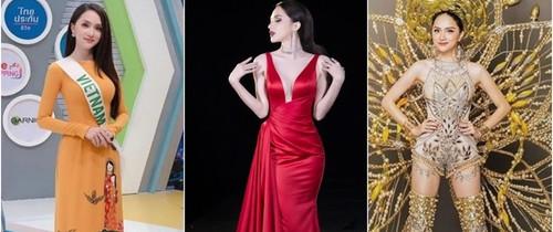 Để có thân hình đẹp, nữ tính và trở thành Hoa hậu, Hương Giang Idol đã phải cố gắng nhiều gấp 5 gấp 10 người khác như thế này