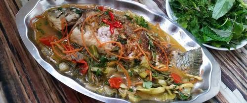 Món ngon cuối tuần: Cá chép om dưa