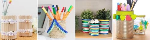 4 cách tái chế vỏ lon để đồ gọn gàng tiện ích vô cùng đơn giản