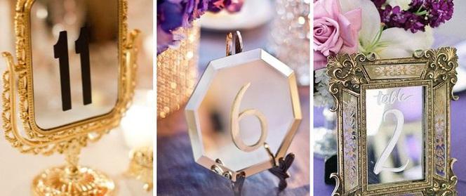 17 ý tưởng đánh số bàn tiệc cưới đẹp lạ