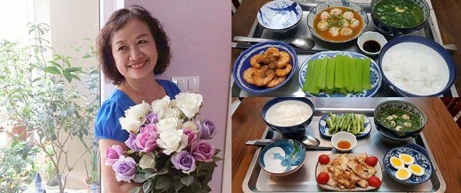 """Bà mẹ chồng """"quốc dân"""" ngày nấu đủ 3 bữa, mỗi bữa một thực đơn ngon lành đẹp mắt cho con dâu ở cữ"""