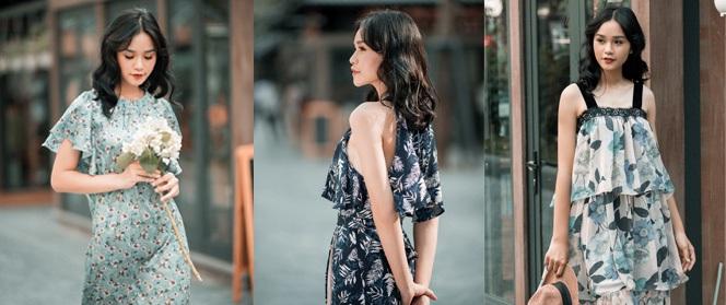 """Những thiết kế váy hoa dịu dàng khiến bạn nhìn một cái là """"yêu"""" ngay"""