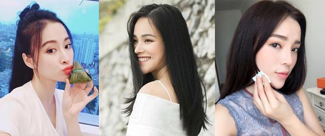 Sao Việt giờ chỉ thích để tóc đen thẳng suôn dài giống các bà các mẹ ngày xưa