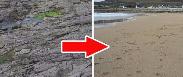 """Ly kỳ chuyện bãi biển 13 năm """"mất tích"""" lại đột ngột xuất hiện chỉ sau một đêm"""