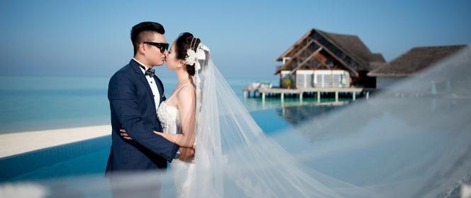 Hậu đám cưới 6 tỷ, nữ đại gia Bình Phước tiếp tục gây sốt với bộ ảnh cưới đẹp nao lòng tại Maldives