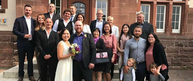Chàng trai Đức bỏ dở chuyến du lịch châu Á vì phải lòng cô gái Việt từ lần đầu gặp gỡ