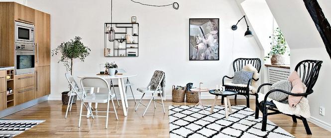 Sự khéo léo trong thiết kế đã giúp căn hộ vỏn vẹn 36m² này đẹp như trong tranh vẽ