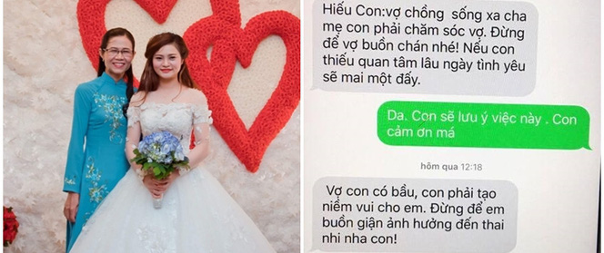 Nàng dâu kể về tin nhắn mẹ chồng dặn con trai chăm sóc vợ bầu khiến vạn người xúc động