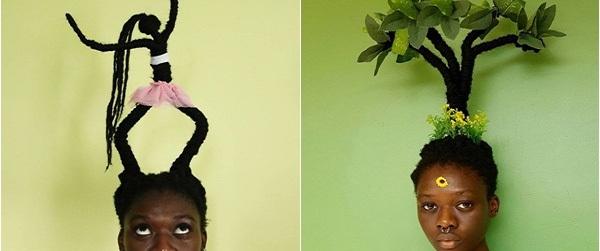 """Cô gái sở hữu mái tóc """"thiên biến vạn hóa"""" khiến bạn không tin vào mắt mình"""
