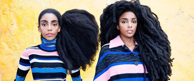 Mọi người đều nghĩ hai cô gái đội tóc giả nhưng sốc khi biết sự thật