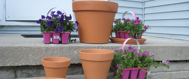 Cách đơn giản và dễ làm để tạo tháp chậu cây cho khu vườn hay hiên nhà bạn thêm sinh động