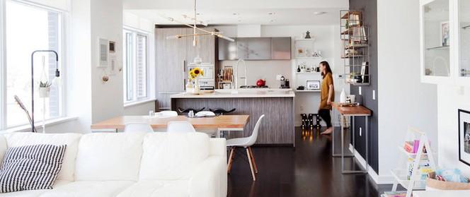 Căn hộ với cách bố trí nội thất đẹp hoàn hảo đến từng chi tiết giúp các bé phát triển trí thông minh
