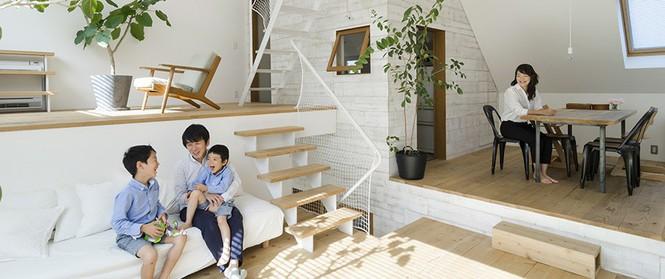 Ngôi nhà phố 43m² đẹp thanh bình với sân vườn xanh mát cây cỏ của gia đình trẻ ở ngay thủ đô Tokyo, Nhật Bản