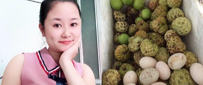 Cô nàng lấy chồng xa 600 cây số, 6 năm rồi mà tháng nào nhà ngoại cũng gửi bao đồ ngon sạch cho ăn