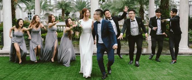 Huỳnh Mi - em gái Trấn Thành vừa lên xe hoa, anh trai trực tiếp làm MC trong đám cưới hoành tráng