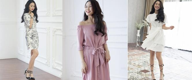 Nhẹ nhàng mà tinh tế với kế hoạch diện váy cho cả tuần đi làm