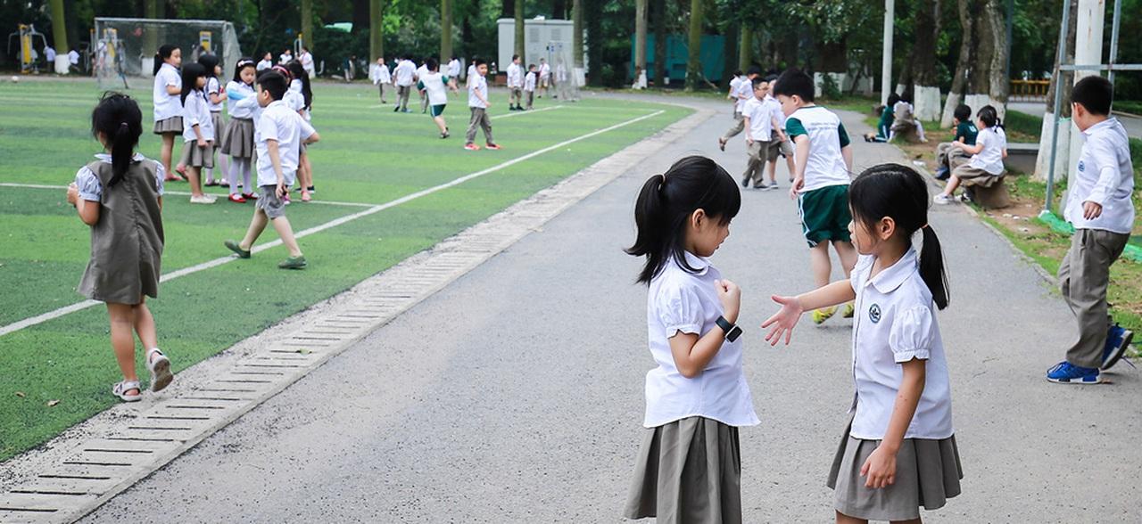 """Đoàn Thị Điểm Ecopark: ngôi trường của những """"niềm vui xanh"""", nơi lũ trẻ được vui chơi trong bầu không khí mát lành"""