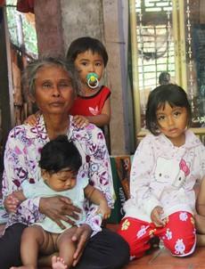 Phép màu kỳ diệu đến với gia đình ông bà ngoại nuôi 5 đứa trẻ nheo nhóc, khóc thét vì khát sữa tại Trà Vinh