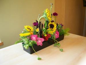 Cắm hoa hướng dương giản dị, tự nhiên 6