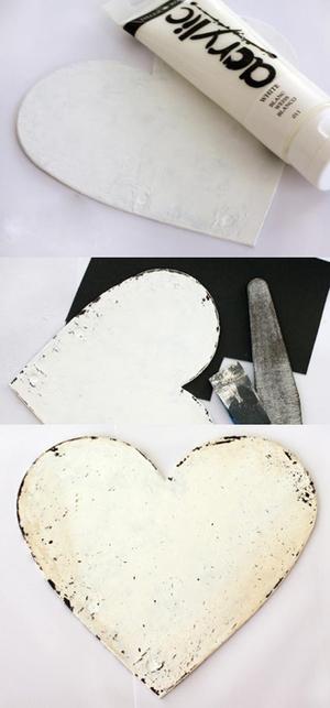 Làm album ảnh vintage hình trái tim dễ mà đẹp 4