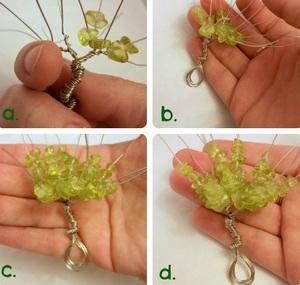 Xỏ cườm thành cây bonsai tí hon cực xinh 5