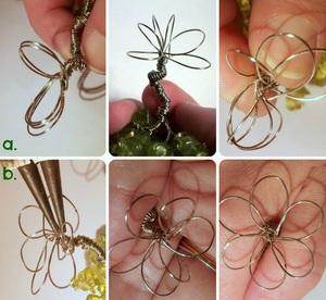 Xỏ cườm thành cây bonsai tí hon cực xinh 7