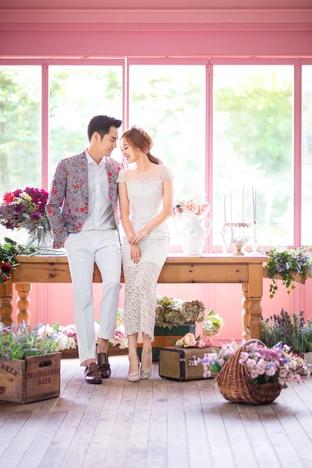 Ảnh cưới lãng mạn của cặp đôi