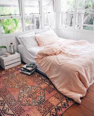 Phòng ngủ ngập tràn ánh sáng tự nhiên