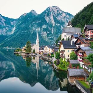 Thị trấn Hallstatt nước Áo đẹp như cổ tích