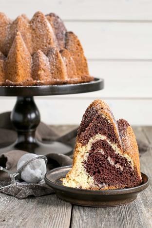 Bundt cake mềm thơm ngon tuyệt