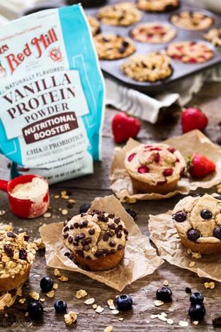 Mềm mịn hấp dẫn với bánh muffin
