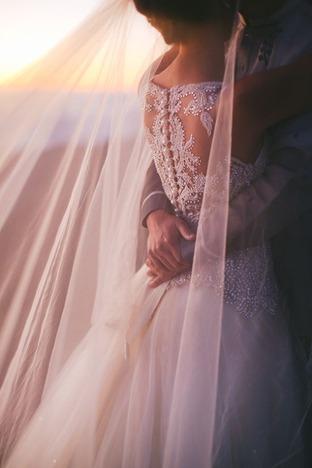Khoảnh khắc lãng mạn lúc hoàng hôn