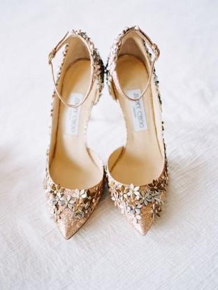 Giày cưới xinh xắn cho cô dâu