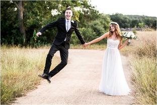 Ảnh cưới nghịch ngợm của cặp đôi