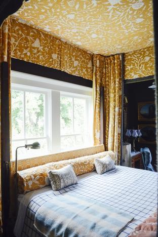 Phòng ngủ đón ánh nắng mặt trời
