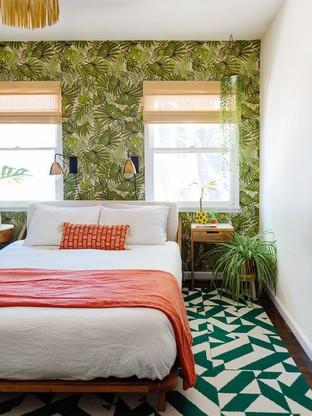 Giấy dán tường cho phòng ngủ nổi bật