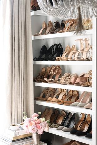 Tủ đựng giày của cô nàng sành điệu