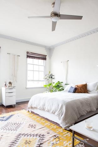 Trải thảm họa tiết cho phòng ngủ thêm nổi bật