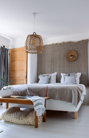 Phòng ngủ với nội thất độc đáo