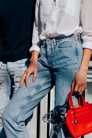 Quần jeans cho cô nàng vintage
