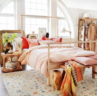 Phòng ngủ với sắc pastel nhẹ nhàng tinh tế